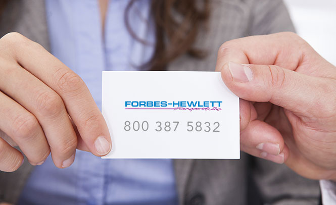 Contact Forbes-Hewlett Transport in Brampton, Ontario