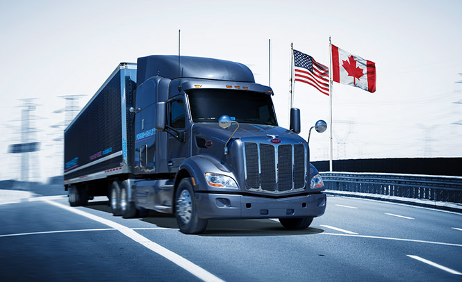 Canada USA cross border transport
